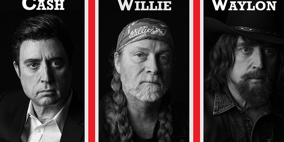 Johnny Cash, Willie Nelson, and Waylon Jennings Country Tribute