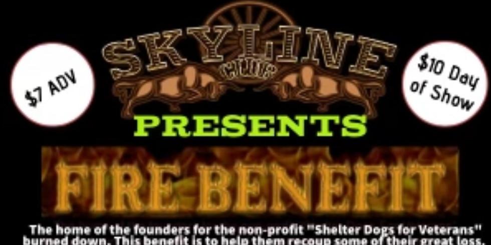 Fire Benefit/Shelter Dogs For Veterans