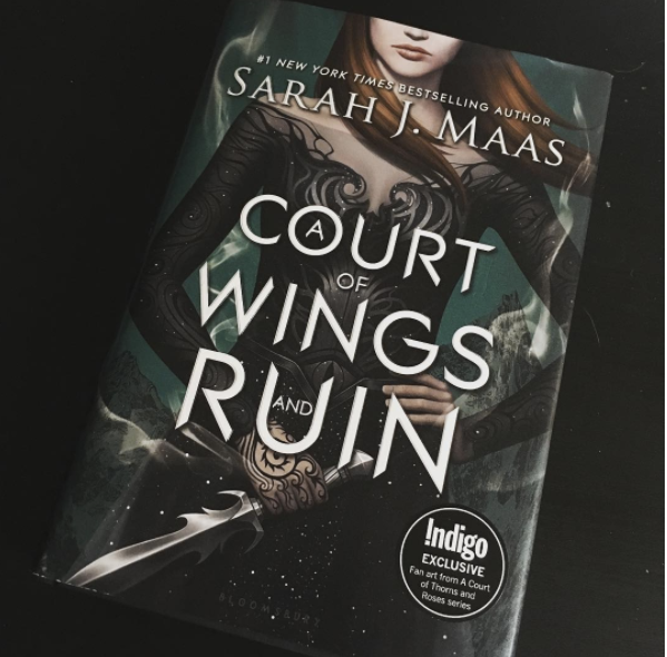 Picture of: Book by Sarah J. Maas called A Court of Wings and Ruin