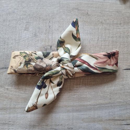 Vintage Floral Neckerchief or Headband
