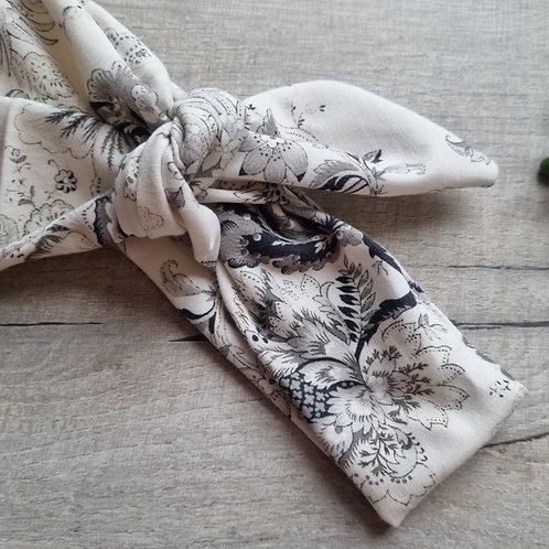 Vintage Floral Neckerchief