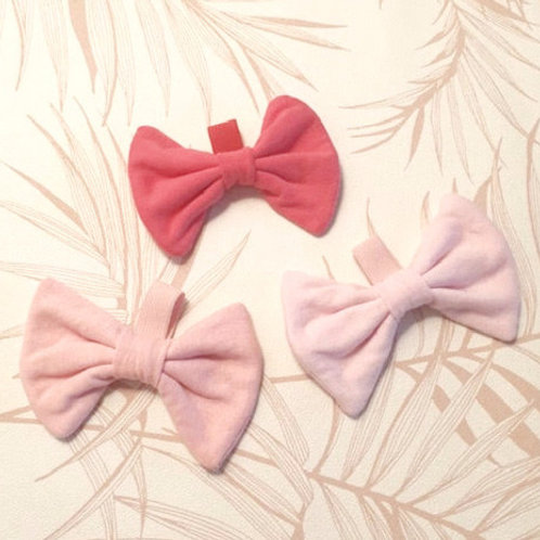 Super Soft Pink Bows