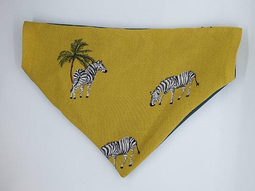Zebra Safari Bandana