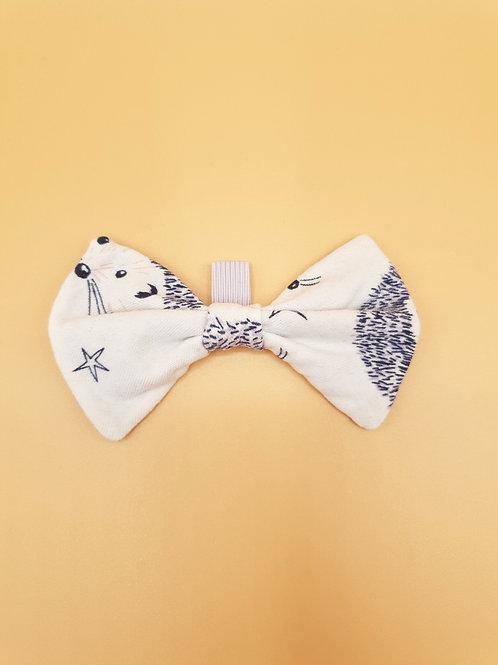 Autumn Hedgehog Bow Tie
