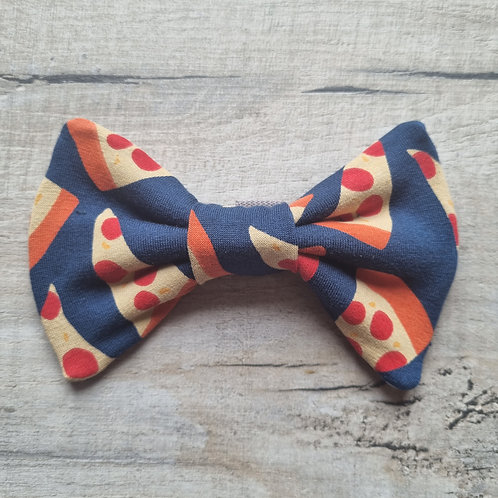 Pizza Party Bow