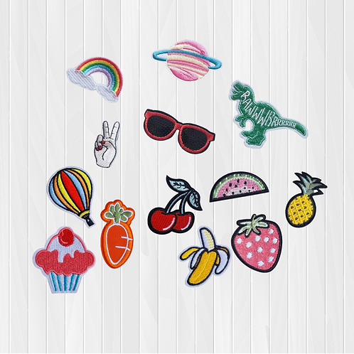 Tropical Mix Add-On Patches
