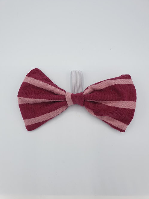 Raspberry Ripple Bow
