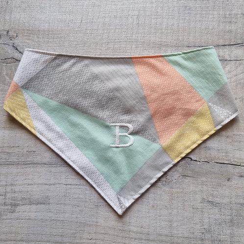 Embroidered Reversible Velcro Bandana