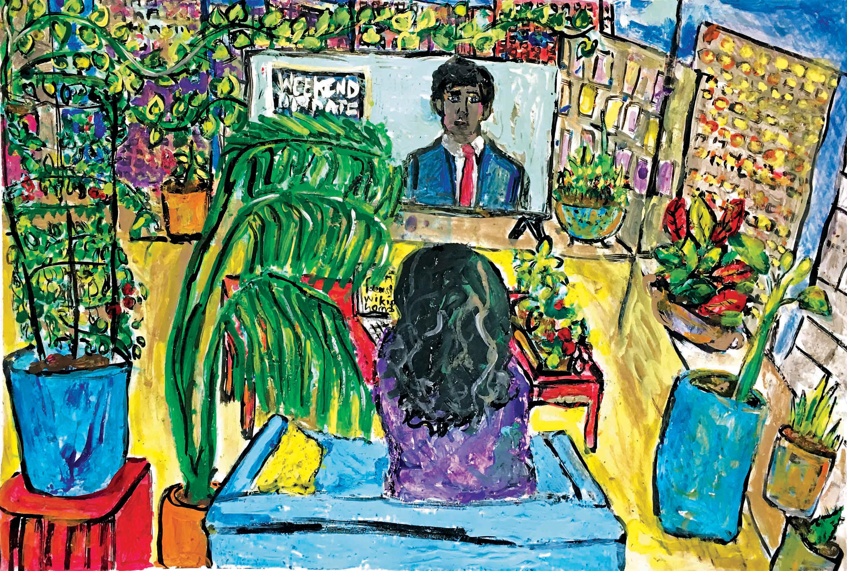 Khan-Rohena_I Live With Plants And Ideas