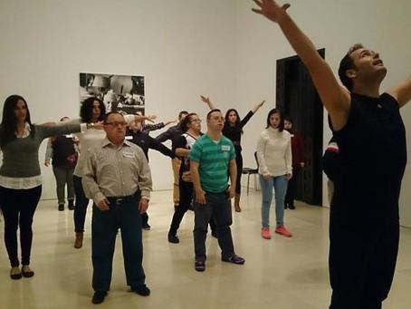 Arte e inclusión en el Museo Picasso de Málaga.