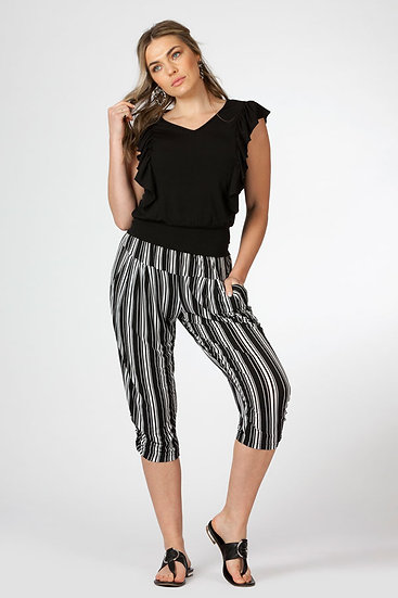 Cropped Slouch Pant