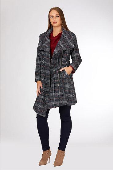 Tailored Wrap Coat