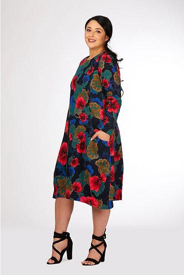 Cocoon Slouch Dress