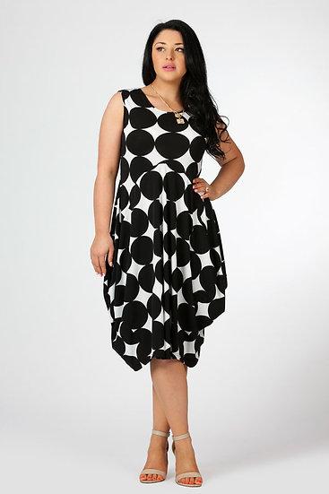 Sleeveless Tulip Dress