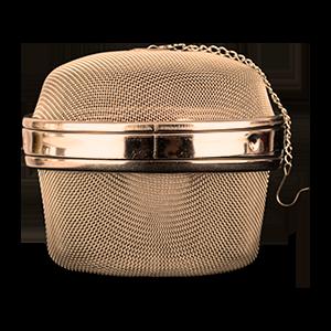 Essiac tea ball strainer