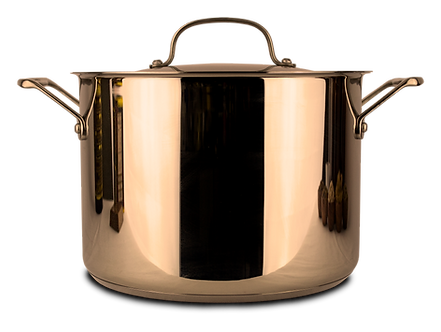 High quality, two gallon stainless steel pot for brewing essiac tea