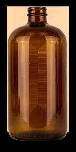 Empty 32 ounce essiac bottle