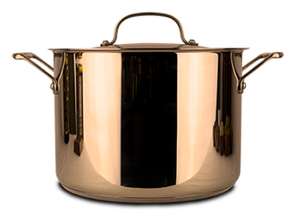 Two gallon essiac brew pot