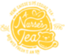 A Nurse's Tea essiac main logo, Rene Caisse's fine essiac tea