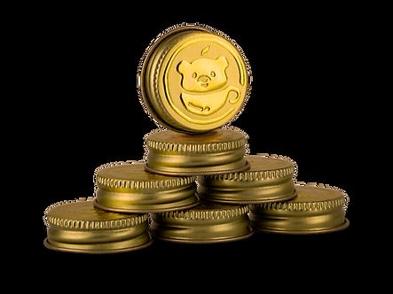 A Nurse's Tea's gold vacuum seal caps for essiac storage