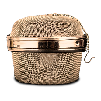 Easy to use stainless steel essiac tea ball strainer