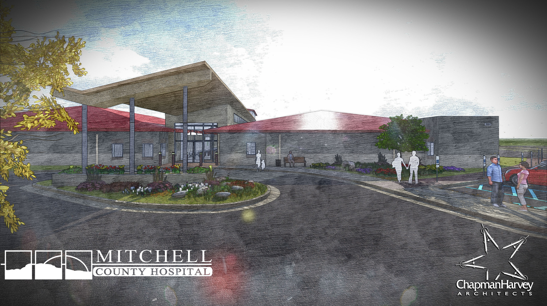 MCHD_Rural Health Clinic - Sketch Render 1