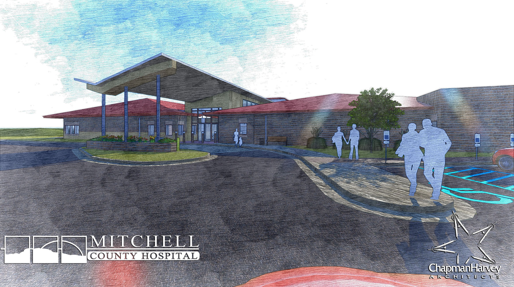 MCHD_Rural Health Clinic - Sketch Render 4