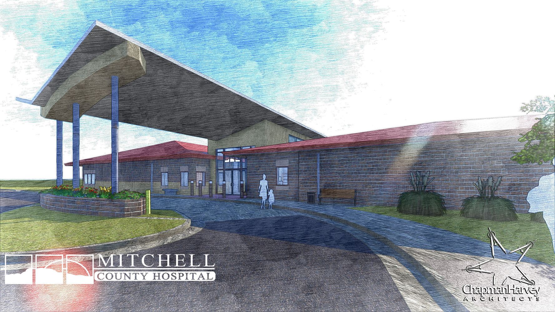 MCHD_Rural Health Clinic - Sketch Render 2