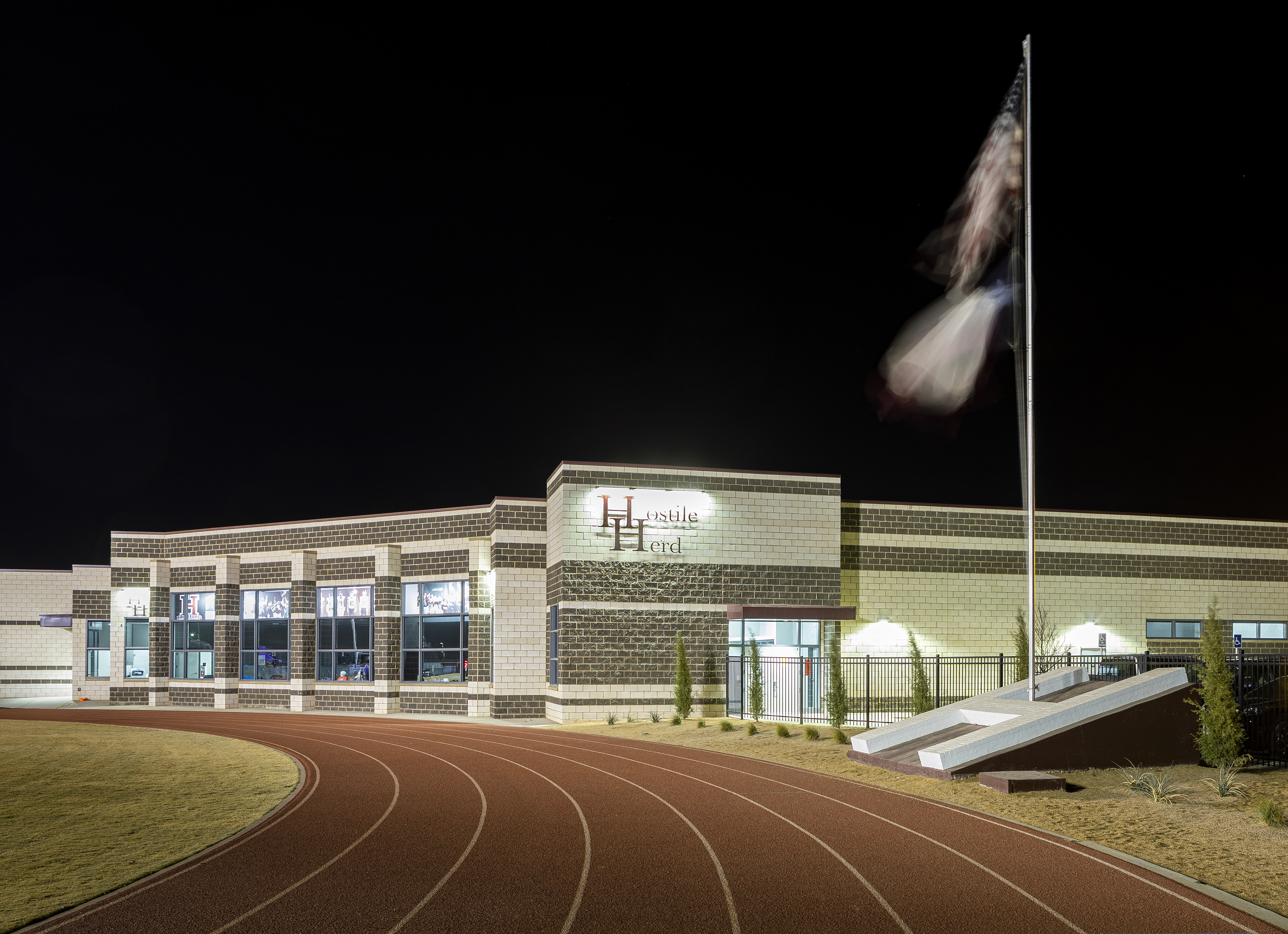 Hereford Field House _ Friday night Ligh