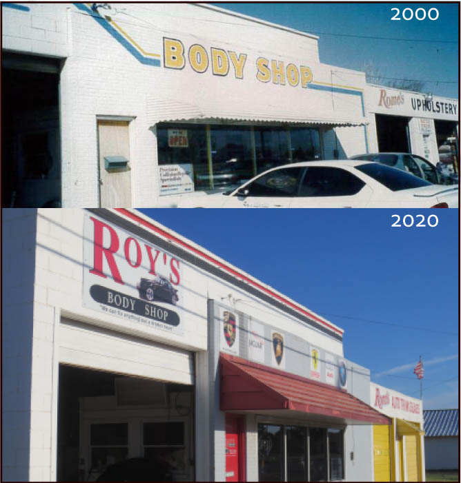Roys body shop