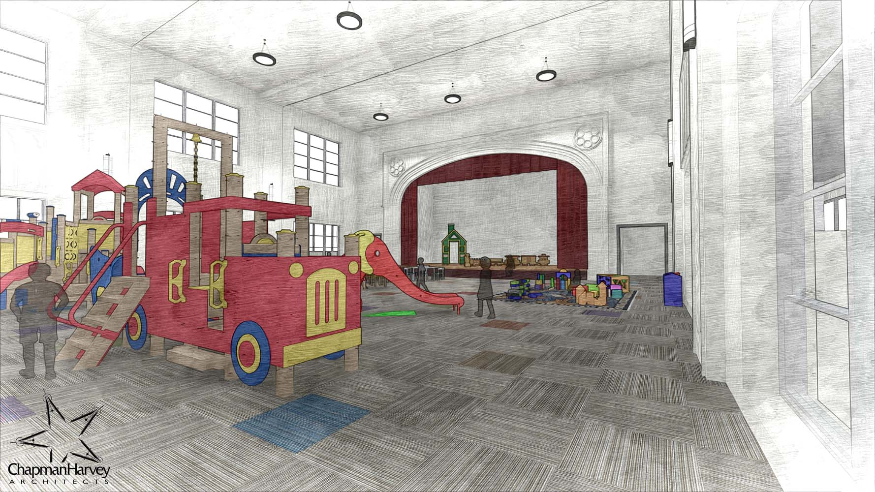 Small - Auditorium_32_Sketch
