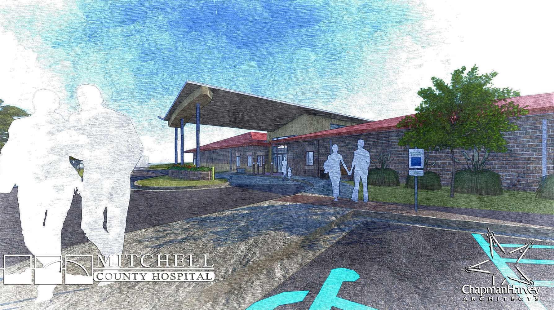 MCHD_Rural Health Clinic - Sketch Render 3