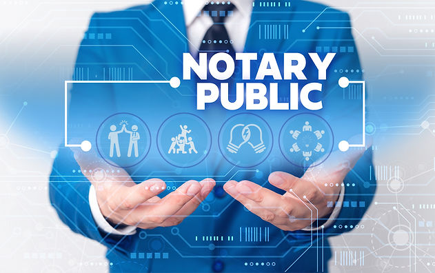 Word writing text Notary Public. Busines