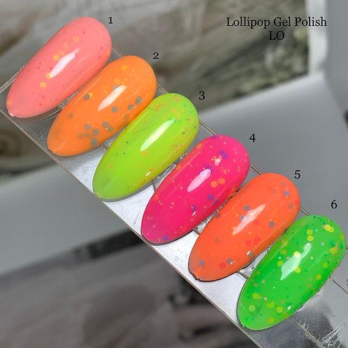 Lollipop гель-лак серии LO