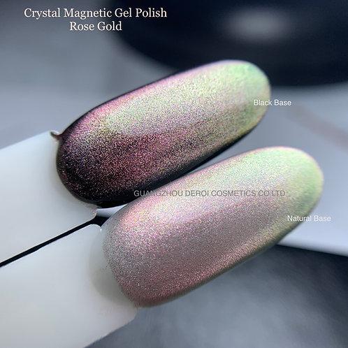 Crystal Magnetic Gel Polish Rose Gold : SR-01