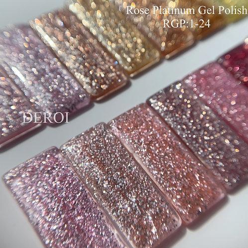 Rose Platinum Gel Polish : RGP