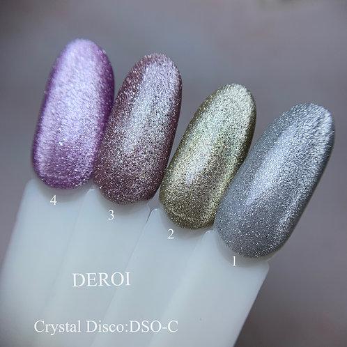 Crystal Disco Gel Polish : DSO-C