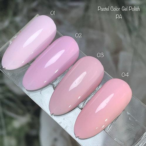 Pastel Color Gel Polish PA Series