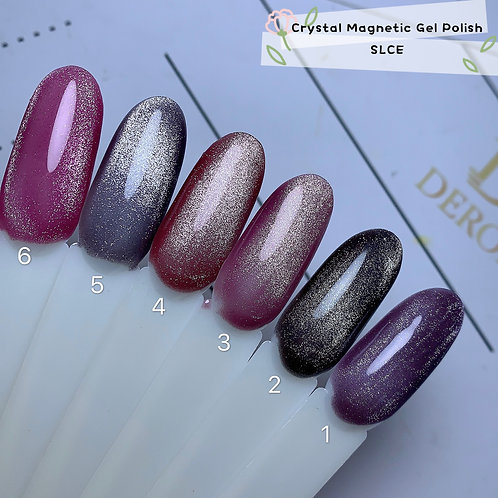 Crystal Magnetic Gel Polish: SL CE