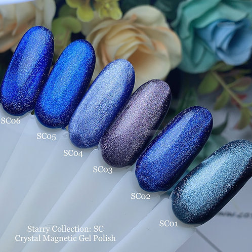 Crystal Magnetic Gel Polish Starry Collection: SC