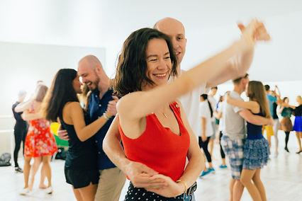 Парный танец форро