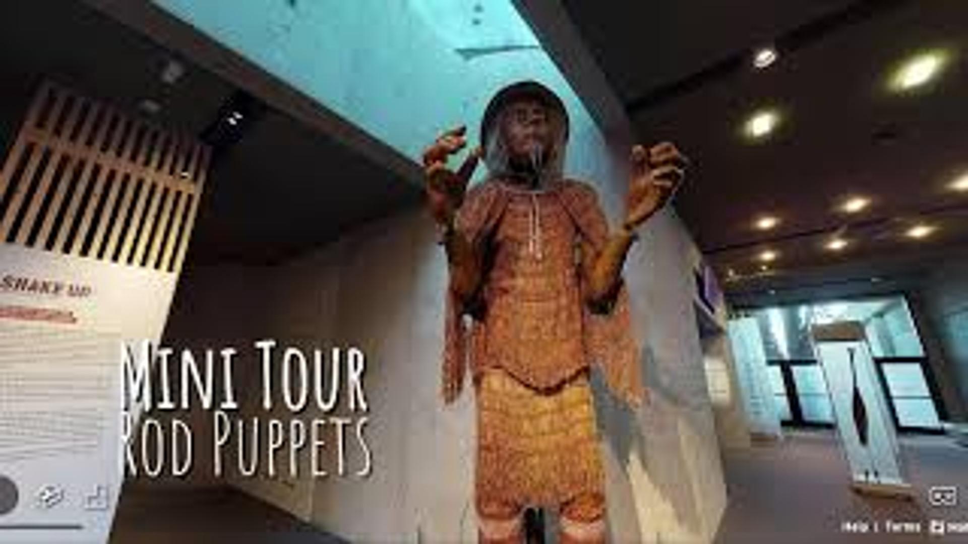 Rod Puppet Mini Tour