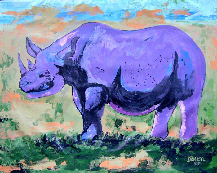 """Purple Rhino"""
