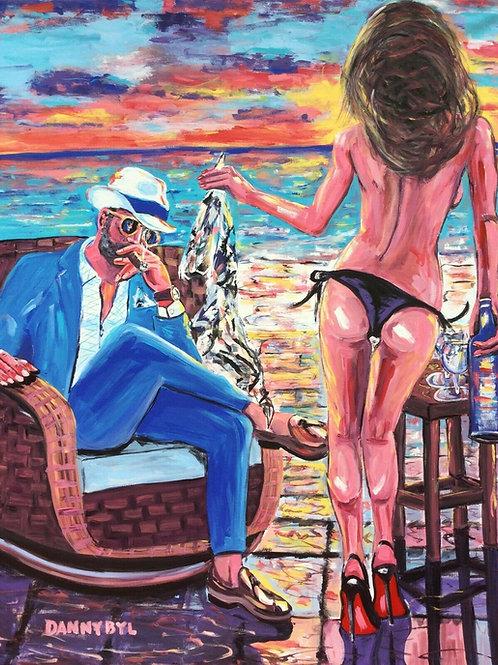 """Cigar Sunset"""