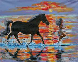 """Horse Splash"""