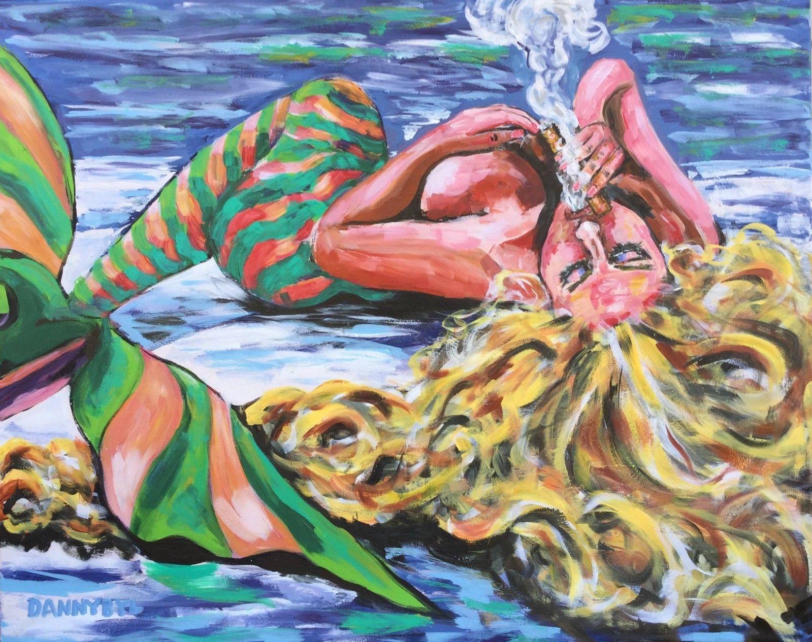 Smokin' Mermaid