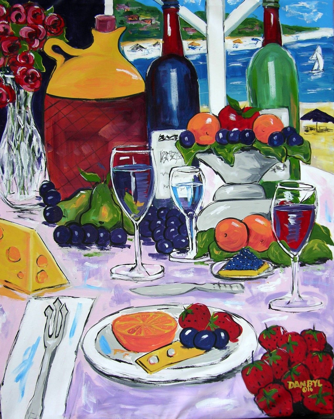 """Beach Wine View"""