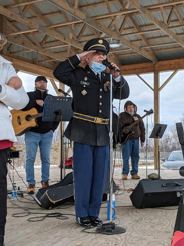 Retired Army Sergeant Alex Clabia