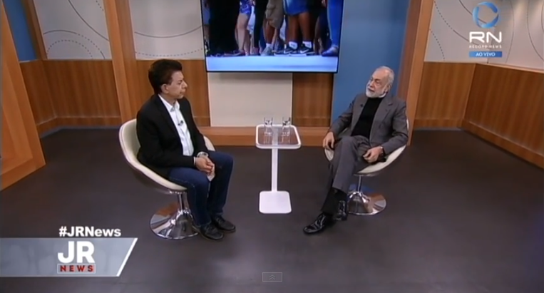 Assista à entrevista no Jornal da Record News