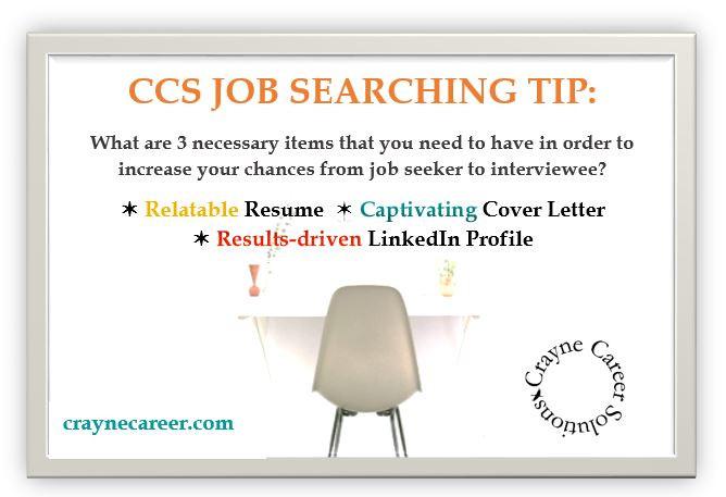CCS-Job Searching Tip